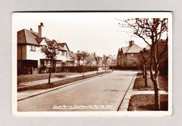 AK GB Manchester Charltonville South Drive Foto ? Ges. 12.8.1960 Nach Rolle VD - Manchester