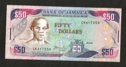 JAMAICA - BANK Of JAMAICA - 50 Dollars (1996) - Giamaica