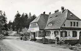 CPSM - COL Du DONON (67) - Aspect De L´Hôtel-Restaurant Sans-Soucis Dans Les Années 50 - Other Municipalities