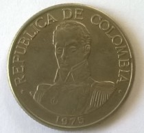 COLOMBIE - 1 PESO 1975 - - Colombie
