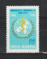 1968 - L Organisation Mondial De La Sante Mi No 2675 Et Y&T No 2378 MNH - 1948-.... Republics