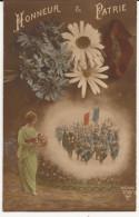 5553. CPA GUERRE 14 18 WW1. HONNEUR ET PATRIE - Patriotiques