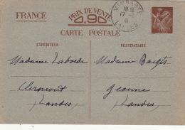 Entier Iris Mimbaste Landes 1941