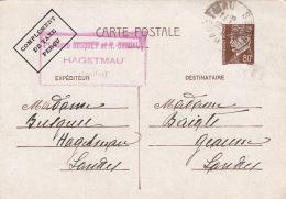 Entier Petain Hagetmau Landes 1942