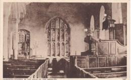 HAWORTH CHURCH INTERIOR - England