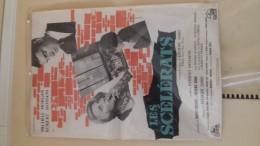 Magnifique Affiche Originale  Cinema 52x90 Cm Dard  Michelle  Morgan  Les Scelerats De Hossein - Affiches & Posters