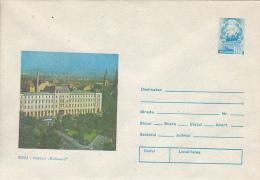 46636- SIBIU BOULEVARD HOTEL, TOURISM, COVER STATIONERY, 1981, ROMANIA - Hôtellerie - Horeca