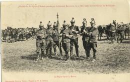 CPA (MILITARIA )  CUIRASSIERS   (plateau De Malzeville) Revue Du 20 Corps D Armée 31 Mai1906 (boite 10) - Régiments