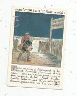 Chromo , Chocolat MOREUIL , TOTO Arrive à L'aéroport ... , 1927 , 2 Scans , Les Cadeaux Du Centenaire - Sonstige