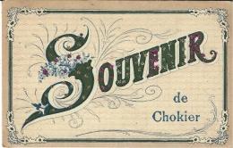 CHOKIER - Souvenir De CHOKIER -colorisée  -ed. V.P.F. - Flémalle
