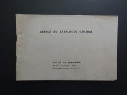 ABREGE DU CATALOGUE GENERAL SOCIETE DU DURALUMIN PARIS - France