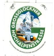 Österreich Grossglockner Hochalpenstrasse Auto Gletscher Berge - Souvenirs