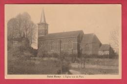 Saint-Remy - L'Eglise Vue Du Pont  ( Voir Verso ) - Blégny