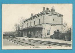 CPA 9 - Chemin De Fer Gare De GUERIGNY 58 - Guerigny