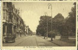 La Louvière -- Rue Arthur Warocqué.   ( 2 Scans ) - La Louvière