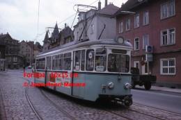 Reproduction D'une Photographie D'un Ancien Tramway Avec Publicité Mildessa à Strassenbahn En Allemagne En 1975 - Reproductions