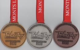 Lot De 3 Médailles : Trolls De Troy : Monts Locaces 2008 - France