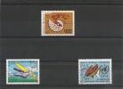 NOUVELLE CALÉDONIE Année 1985 P.A.  N°Y/T :247/249** Côte : 22,60 € - Poste Aérienne
