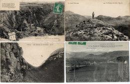 Le Cantal Pittoresque  - 4 CPA - Sommet Du Griou - Chapelle ND Du Chateau - Breche De Rolland - Allagnon(89007) - Non Classés
