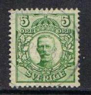 Sweden SG69 1911 Definitive 5ö Good/fine Used - Usati
