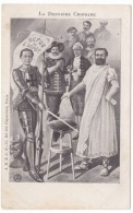 Last Crusade France Politics Catholics Refuse To Pay Taxes C1900s Vintage Postcard - Satirical