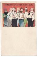 Bretelle Guyot Suspender Advertisement, 'the Chic Man Wears Nothing But'  Royalty(?) C1900s Vintage Postcard - Publicité