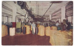 Minnesota State Prison Twine Room Factory Manufacturing Interior View, C1900s Vintage Postcard - Prison