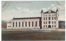 Wyoming State Prison Rawlins WY, C1900s Vintage Postcard - Prison