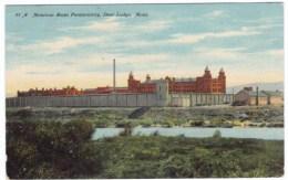Montana State Prison Deer Lodge MT, C1910s Vintage Postcard - Prison