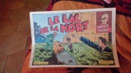 Mister Satan Le Lac De La Mort    Jim L'eclair - A Suivre