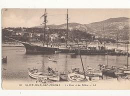 06 SAINT JEAN CAP FERRAT LE PORT ET LES VILLAS CPA BON ETAT - Saint-Jean-Cap-Ferrat