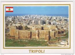 Tripoli Postcard Lebanon St Gilles Castle Unused , Carte Postale Libanon - Lebanon