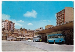 CANICATTI' - LARGO AOSTA - AGRIGENTO - 1966 - AUTOBUS - PULLMAN - Agrigento