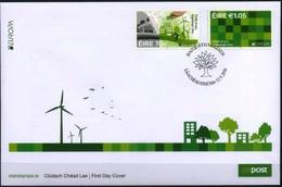 EIRE IRELAND 2016 FDC EUROPA THINK GREEN - Europa-CEPT