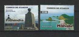 EC - 2010 - 3252+3253 - PICHINCHA+MANABI  - POSTFRISCH - MNH - Equateur
