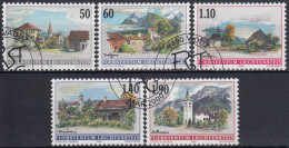 Liechtenstein 2000 Nº 1170/74 Usado - Liechtenstein