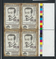EC - 2013 -  The 450th Anniversary Of Quito's Royal Audience  - 4 BLOCK - POSTFRISCH - MNH - Equateur