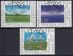 Liechtenstein 2000 Nº 1179/81 Usado - Liechtenstein