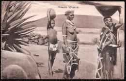 BASUTU WOMEN - SOUTH AFRICA - ETHNIC SEMI NUDE WOMEN - 1900 - Afrique Du Sud