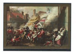 JERSEY- The Batle Over Jersey - Without White Frame  - 2 BLOCKS -POSTFRISCH - MNH - 1910-... République