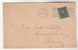 1906 Bloomington USA Stamps COVER - United States