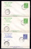 Congo Belge 1945, Journée Philatélique, Aide Aux Sinistrés, 268 / 269 Sur Lettre - Philatelic Exhibitions