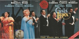 Gala Musica Lirica, CD. - Opere