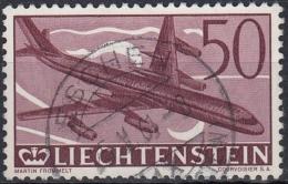 Liechtenstein Aereo 1960 Nº A-36 Usado - Poste Aérienne