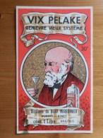 """Etiquette Genièvre """"Vix Pelake"""", Distillerie Du Vieux Marronnier Dubois Binet à Braives - Labels"""