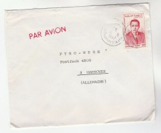 1967 Air Mail MOROCCO Stamps COVER  To GB - Morocco (1956-...)