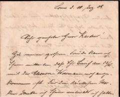 ! 1909 Briefinhalt Mit Interessantem Text Aus Togo, Lome, An Felix Kastner Marine Oberzahlmeister Wilhelmshaven - Colony: Togo
