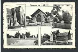 CPA - Groeten Uit HALEN - Multivues   // - Halen