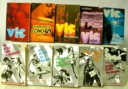 VIC ST VAL LOT DE 10 VOLUMES 11 à 24 - Fleuve Noir
