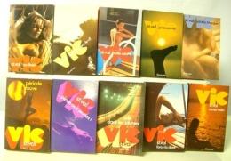 VIC ST VAL LOT DE 10 VOLUMES 26 à 56 - Fleuve Noir